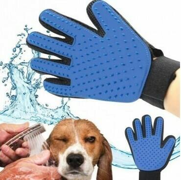 Guante True Touch Quita Pelo Mascota Gato Perro Masajeador