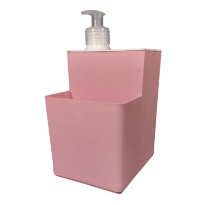 Dispenser Detergente Porta Esponja Pastel