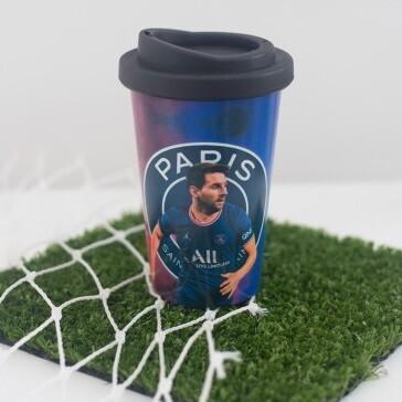 Vaso Termico con Tapa Messi Paris