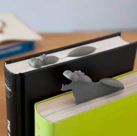 Marcador De Libro Hipopótamo