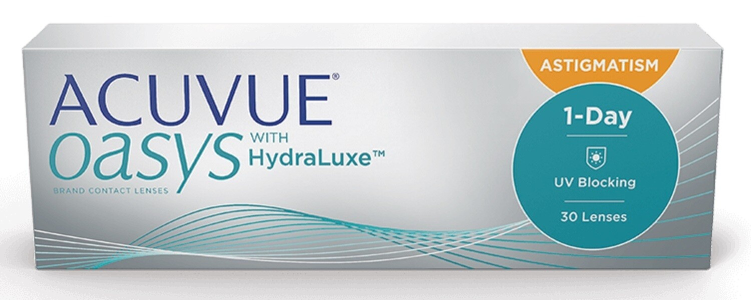 1-DAY ACUVUE® MOIST for ASTIGMATISM 90 Pk
