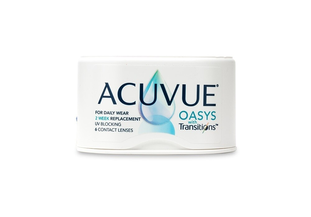 ACUVUE® OASYS with Transitions 6pk