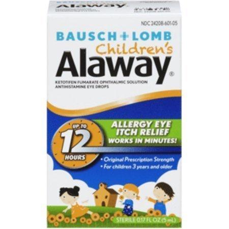 Bausch + Lomb Alaway Solution Eye Drops for Children 0.17 oz
