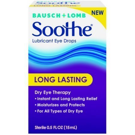 Bausch + Lomb Soothe Long Lasting Lubricant Eye Drops 0.5 oz