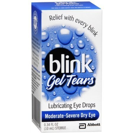 Blink Gel Tears Lubricating Eye Drops 10 mL