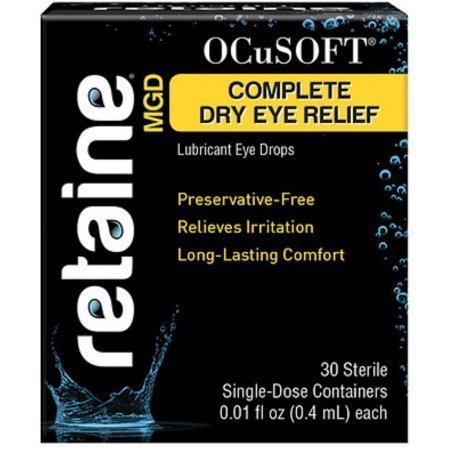 OCuSOFT Retaine MGD Ophthalmic Emulsion Sterile Single-Dose Container 30 Pack