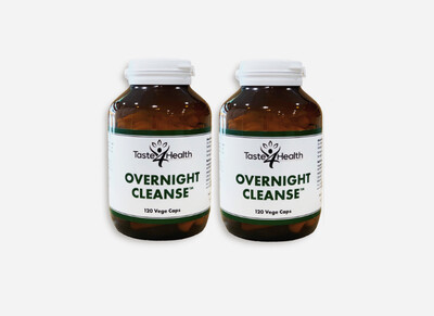 OVERNIGHT CLEANSE 2x bottles- Colon Cleanse and Detox