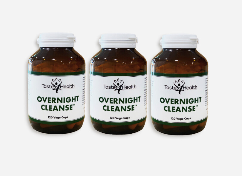 OVERNIGHT CLEANSE 3x bottles- Colon Cleanse and Detox