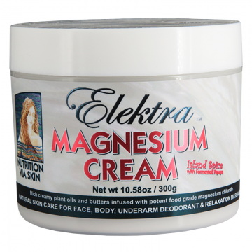 Elektra Magnesium Cream - Island Spice - 300g