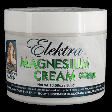 Elektra Magnesium Cream - Herbal - 300g