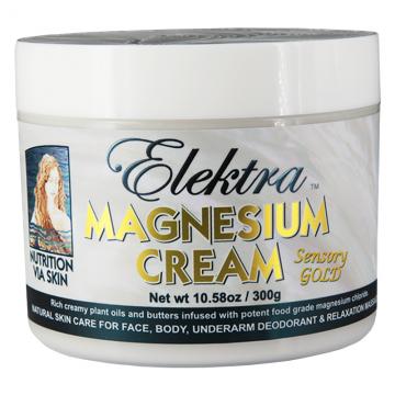 Elektra Magnesium Cream - Sensory Gold - 300g