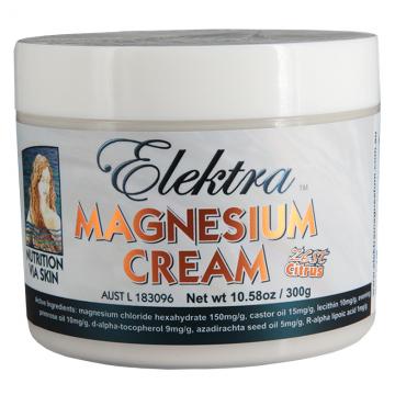 Elektra Magnesium Cream - Zest - 300g