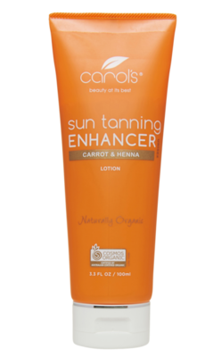 Carol's Organic Sun Tan Enhancer Lotion 100ml