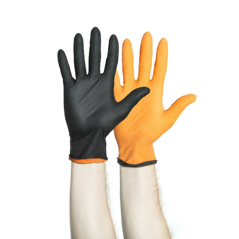Black Fire Nitrile Gloves