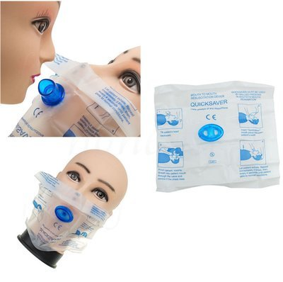 CPR Face Shield (Inculdes one-way valve)