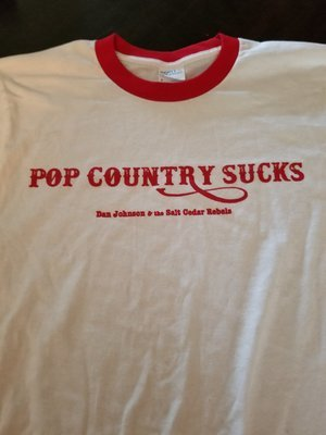 Pop Country Ringer Tee
