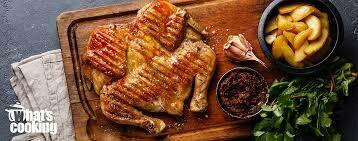 Chicken Spatchcock In BBQ Sauce - +/- 1.4 kg