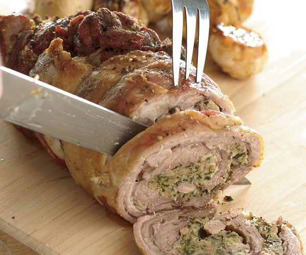 Lamb - Shoulder Rolled Roast Stuffed with our delicious Stuffing.(+/-1.5kg) Raw