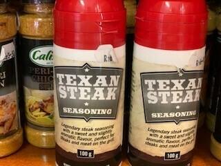 Spices -Texan Steak Seasoning