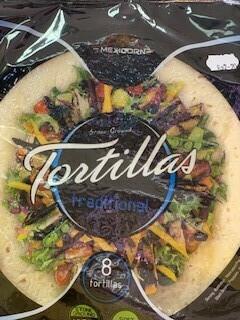 Dry goods - Plain Tortillas