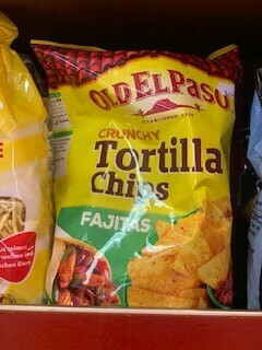 Dry goods- Tortilla Chips - Fajitas