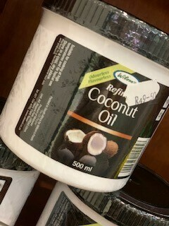 Oils- Coconut Oil - cooking
