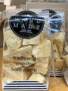 Meshuggah Traditional Crunchy Honeycomb. 120g Sweet artisans hand-make irresistible candy and confectionery.