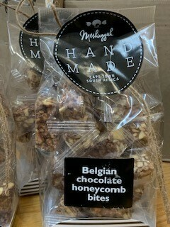 Belgian Chocolate Honeycomb- 120g.  Sweet artisans hand-make irresistible candy and confectionery.