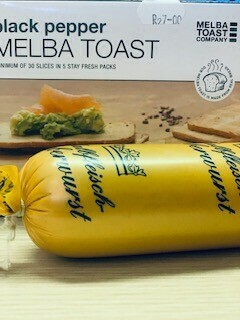 Fine Liver Pate' (+/-200g) Enjoy on a Slice of Melba Toast