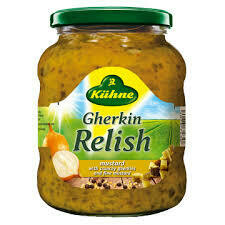 Kuhne- Gherkin Relish Sweet Pickle 350g
