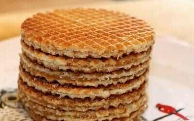 STROOPIE- Dutch Syrup Waffles 250g