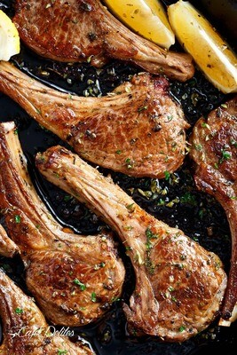 Lamb Rib Chops -100g Packed 8 in a portion
