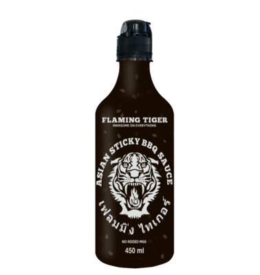 FLAMING TIGER Asian Sticky BBQ Sauce 450ml