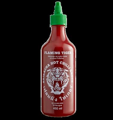FLAMING TIGER Sriracha Hot Chilli Sauce 450ml