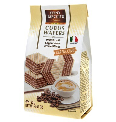 Feiny Biscuits - Wafers with a Cappucino creme Filling-125g