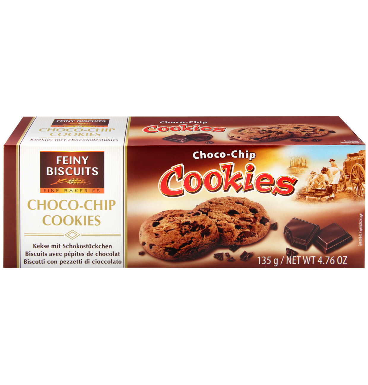 Feiny Biscuits - Chocolate Chip Cookies 135g