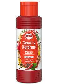Sauce -Hela Hot Curry Ketchup Sauce
