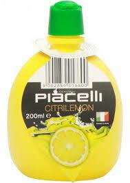 Piacelli Concentrate lemon 200ml
