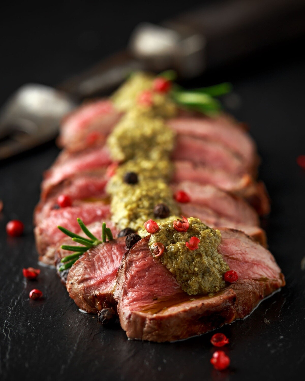 Venison Steaks - 150g steaks x 4 (600g)