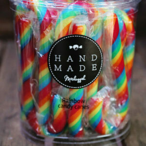 Meshuggah Candy Cane Large Rainbow 170mm