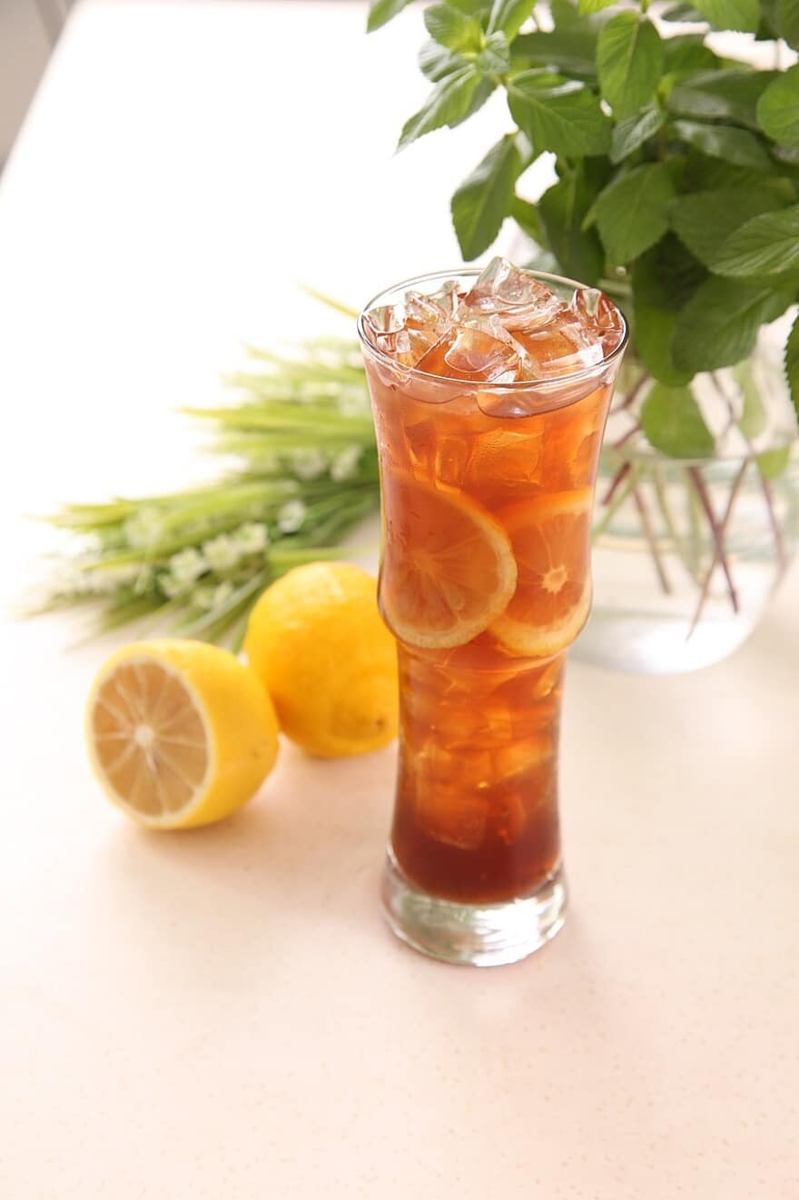 Zitronenteegetrank - Lemon Tea Drink 400g Refreshing and Easy to make. Enjoy hot or cold.