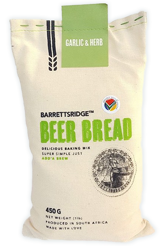 Barrettsridge Beer Bread. Garlic & Herb 450g