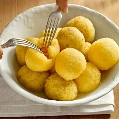 Kartoffelknödel - Potato Dumplings Half & Half -  Makes 12 Dumplings