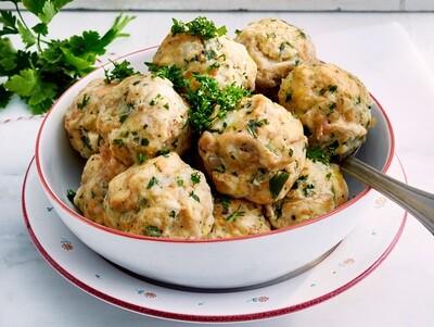 Semmelknödel - German Bread Dumplings