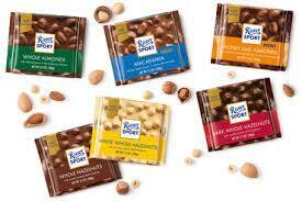 Ritter Sport Chocolate Slab- 100g 4 flavours available
