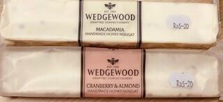 Wedgewood Handmade Nougat: 100g Cranberry