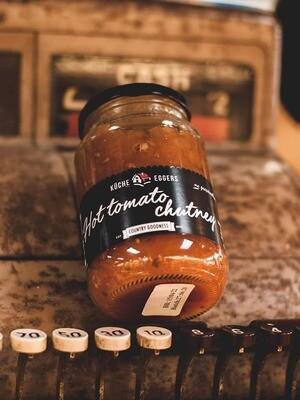Kuche Eggers Hot Tomato Chutney 430g