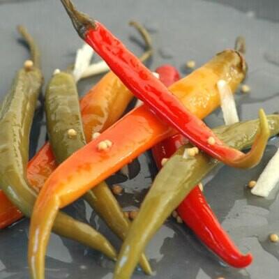 Kuche Eggers Pickled Chillies 350g