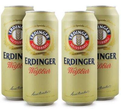 Erdinger Weißbier - 4 pack 500 ml