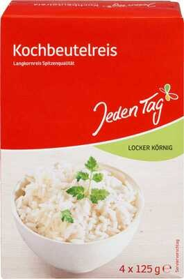 Jeden Tag Kochbeutelreis - Rice in a boiling bag